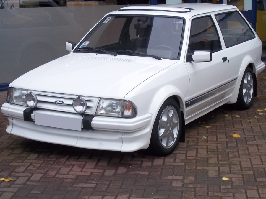 Ford Escort RS универсал 3-дв., 1980–1986, 3 поколение - отзывы, фото и характеристики на Car.ru