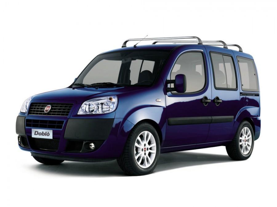 Fiat Doblo Panorama минивэн, 2005–2016, 1 поколение [рестайлинг] - отзывы, фото и характеристики на Car.ru