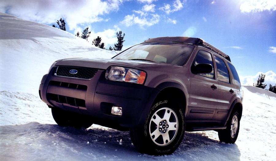 Ford Escape кроссовер, 2000–2004, 1 поколение - отзывы, фото и характеристики на Car.ru