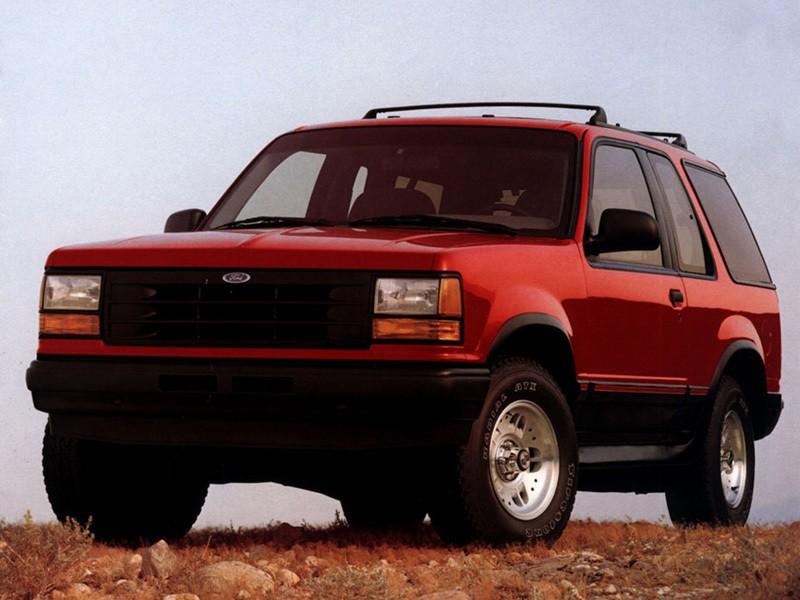 Ford Explorer Sport внедорожник 3-дв., 1990–1995, 1 поколение - отзывы, фото и характеристики на Car.ru