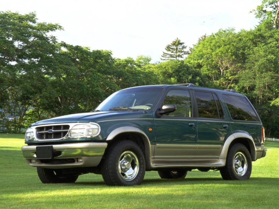 Ford Explorer внедорожник 5-дв., 1995–1999, 2 поколение - отзывы, фото и характеристики на Car.ru