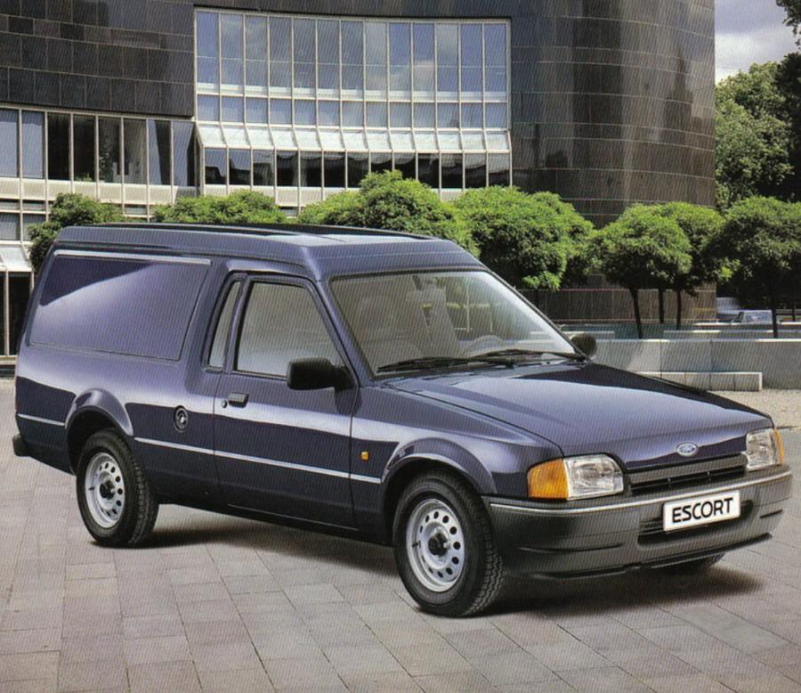 Ford Escort Express фургон, 1986–1995, 4 поколение - отзывы, фото и характеристики на Car.ru