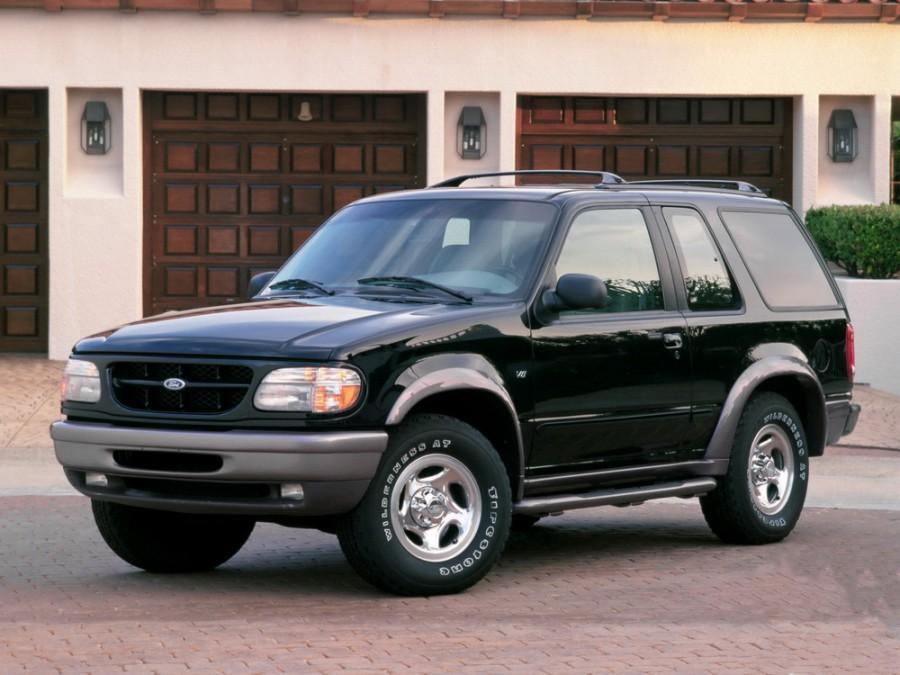 Ford Explorer Sport внедорожник 3-дв., 1995–1999, 2 поколение - отзывы, фото и характеристики на Car.ru