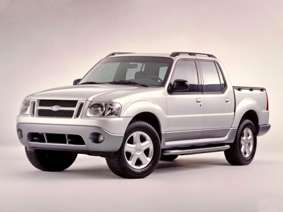 Ford Explorer Sport Trac пикап, 2001–2005, 1 поколение - отзывы, фото и характеристики на Car.ru