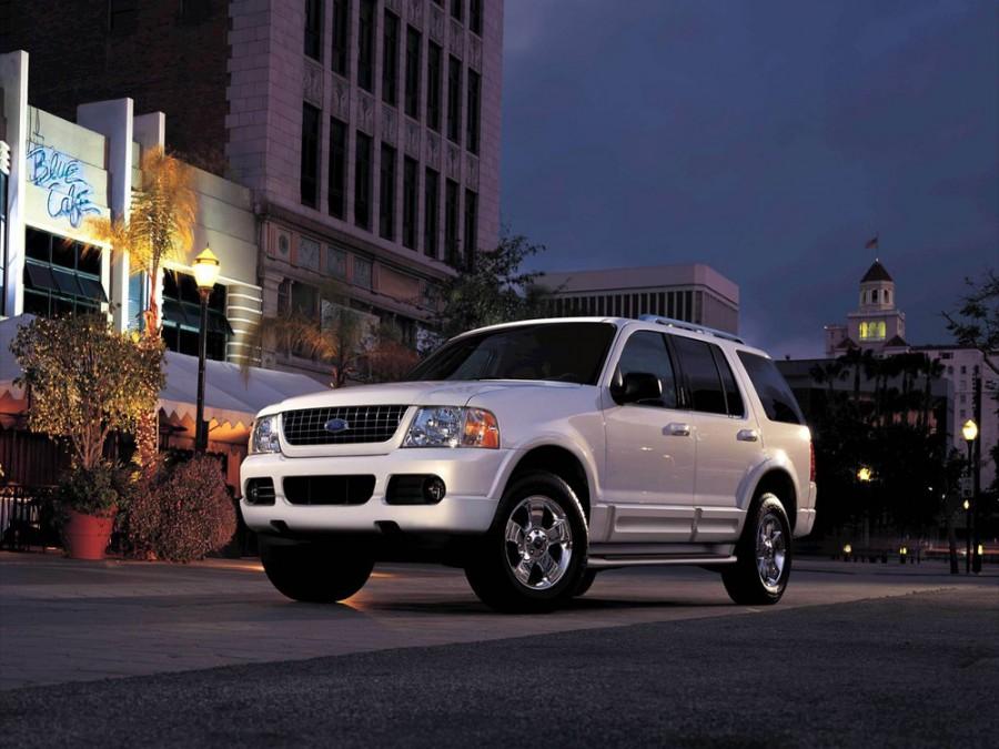 Ford Explorer внедорожник, 2002–2006, 3 поколение - отзывы, фото и характеристики на Car.ru