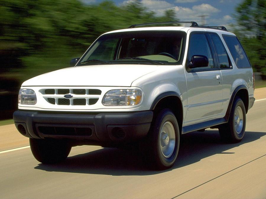 Ford Explorer Sport внедорожник 3-дв., 1999–2001, 2 поколение [рестайлинг] - отзывы, фото и характеристики на Car.ru