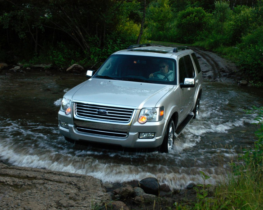 Ford Explorer внедорожник, 2006–2010, 4 поколение - отзывы, фото и характеристики на Car.ru