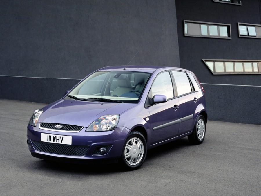 Ford Fiesta хетчбэк 5-дв., 2005–2010, 5 поколение [рестайлинг] - отзывы, фото и характеристики на Car.ru