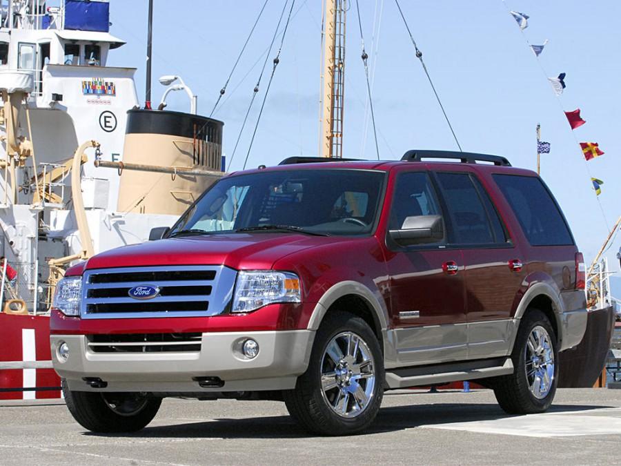 Ford Expedition внедорожник, 2007–2016, 3 поколение - отзывы, фото и характеристики на Car.ru