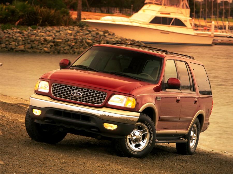 Ford Expedition внедорожник, 1999–2002, 1 поколение [рестайлинг] - отзывы, фото и характеристики на Car.ru