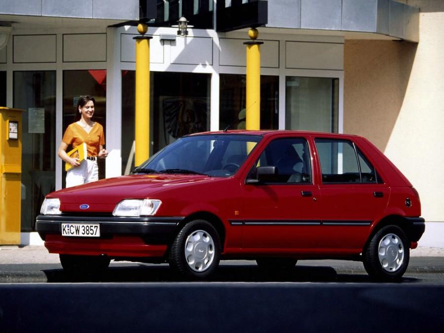 Ford Fiesta хетчбэк 5-дв., 1989–1996, 3 поколение - отзывы, фото и характеристики на Car.ru