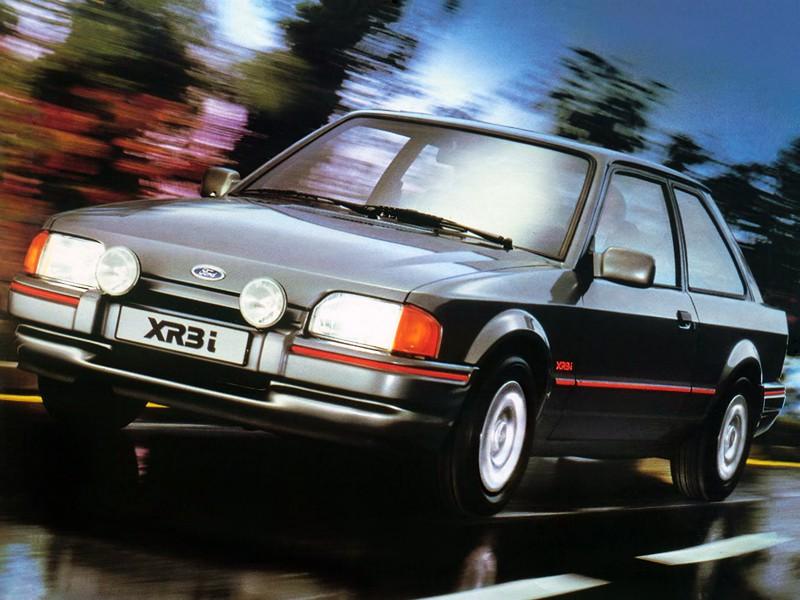 Ford Escort хетчбэк 3-дв., 1986–1995, 4 поколение - отзывы, фото и характеристики на Car.ru