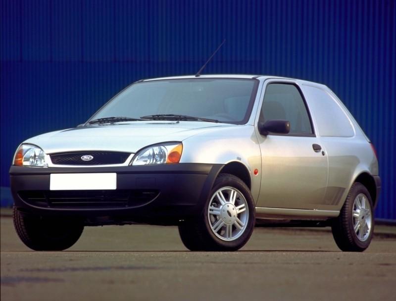 Ford Fiesta Van фургон, 1999–2006, 4 поколение [рестайлинг] - отзывы, фото и характеристики на Car.ru