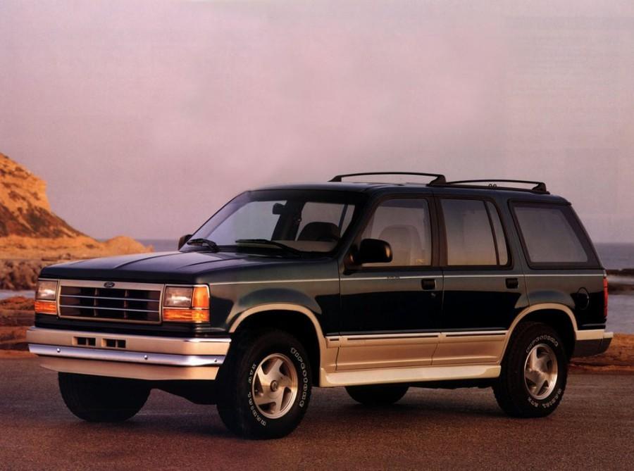 Ford Explorer внедорожник 5-дв., 1990–1995, 1 поколение - отзывы, фото и характеристики на Car.ru