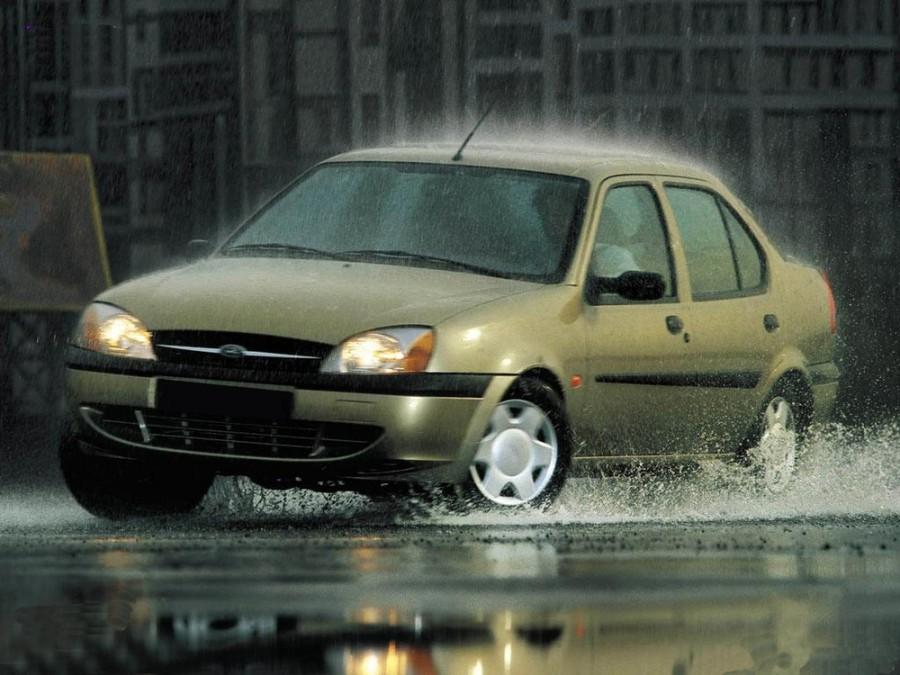 Ford Fiesta Ikon седан, 1999–2006, 4 поколение [рестайлинг] - отзывы, фото и характеристики на Car.ru