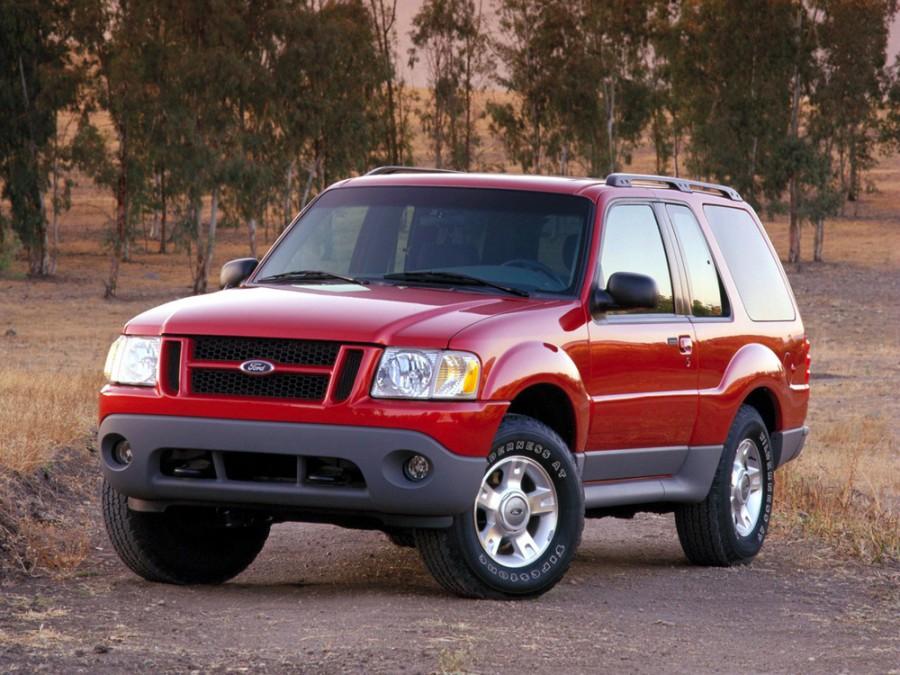 Ford Explorer Sport внедорожник, 2001–2003, 2 поколение [2-й рестайлинг] - отзывы, фото и характеристики на Car.ru