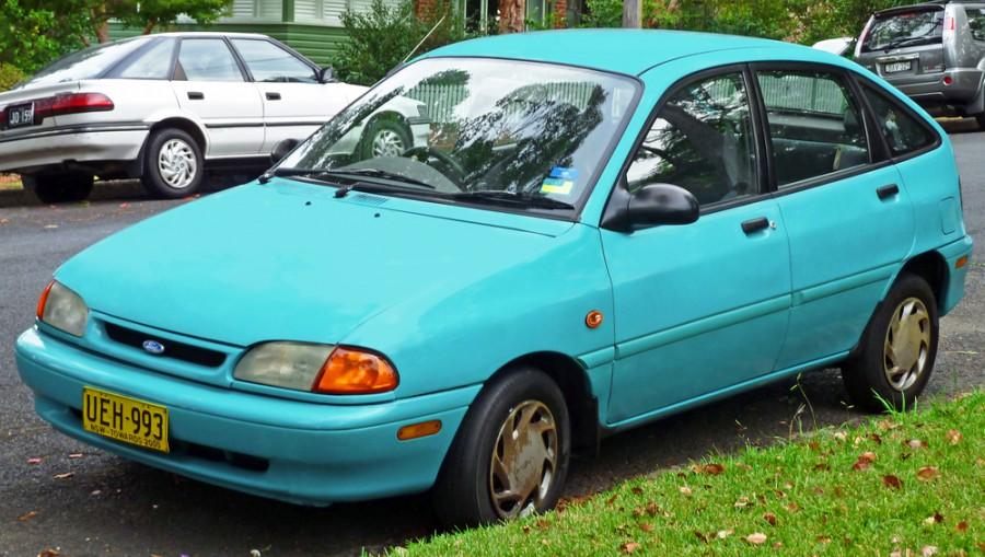 Ford Festiva хетчбэк 5-дв., 1993–1997, 2 поколение - отзывы, фото и характеристики на Car.ru