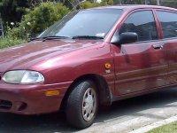 Ford Festiva, 2 поколение [рестайлинг], Хетчбэк 5-дв., 1997–2000