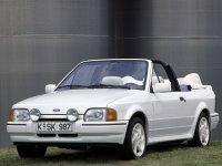 Ford Escort, 4 поколение, Кабриолет, 1986–1995