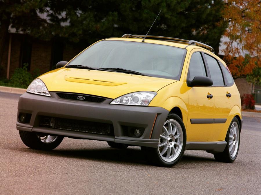 Ford Focus ST хетчбэк 5-дв., 2001–2004, 1 поколение [рестайлинг] - отзывы, фото и характеристики на Car.ru