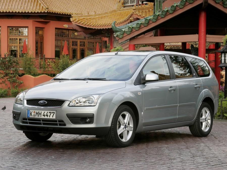 Ford Focus универсал 5-дв., 2004–2008, 2 поколение - отзывы, фото и характеристики на Car.ru