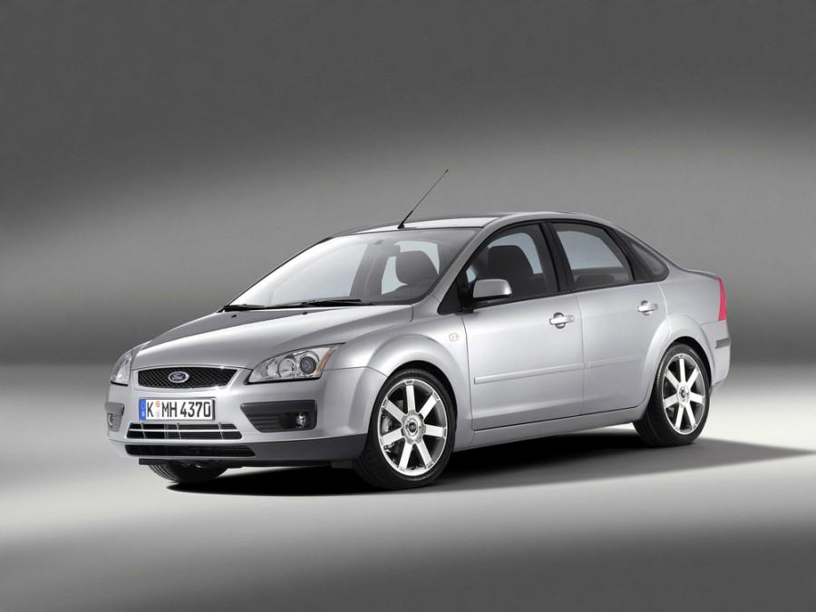 Ford Focus седан 4-дв., 2004–2008, 2 поколение - отзывы, фото и характеристики на Car.ru