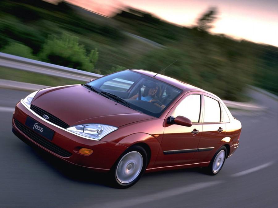 Ford Focus седан 4-дв., 1998–2004, 1 поколение - отзывы, фото и характеристики на Car.ru