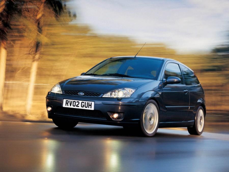 Ford Focus ST хетчбэк 3-дв., 2001–2004, 1 поколение [рестайлинг] - отзывы, фото и характеристики на Car.ru