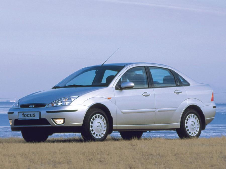 Ford Focus седан, 2001–2004, 1 поколение [рестайлинг] - отзывы, фото и характеристики на Car.ru