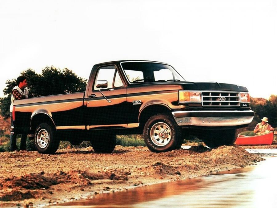 Ford F-Series F-150 RegularCab пикап 2-дв., 8 поколение - отзывы, фото и характеристики на Car.ru