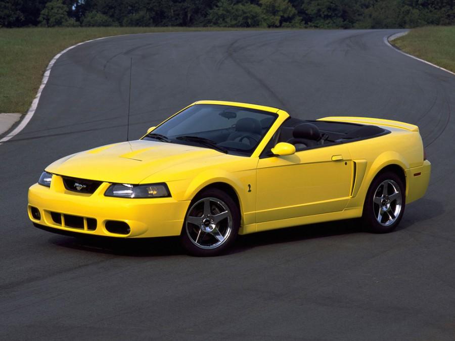 Ford Mustang кабриолет, 1993–2005, 4 поколение - отзывы, фото и характеристики на Car.ru