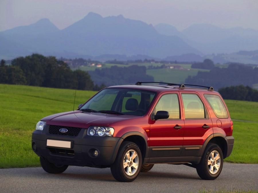Ford Maverick внедорожник, 2004–2007, 3 поколение - отзывы, фото и характеристики на Car.ru