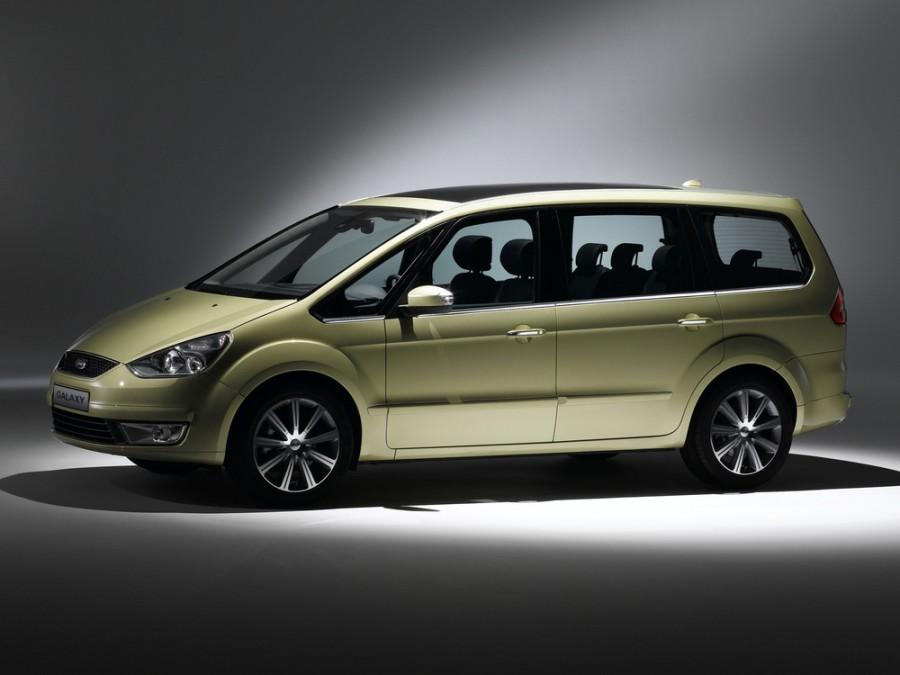Ford Galaxy минивэн, 2006–2010, 2 поколение - отзывы, фото и характеристики на Car.ru