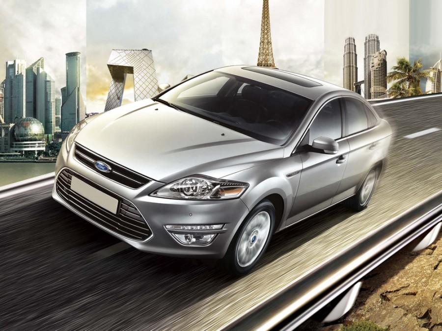 Ford Mondeo седан, 2010–2016, 4 поколение [рестайлинг] - отзывы, фото и характеристики на Car.ru