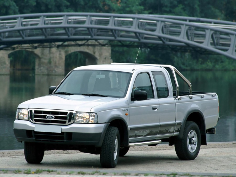 Ford Ranger Super Cab пикап 2-дв., 2003–2006, 2 поколение - отзывы, фото и характеристики на Car.ru