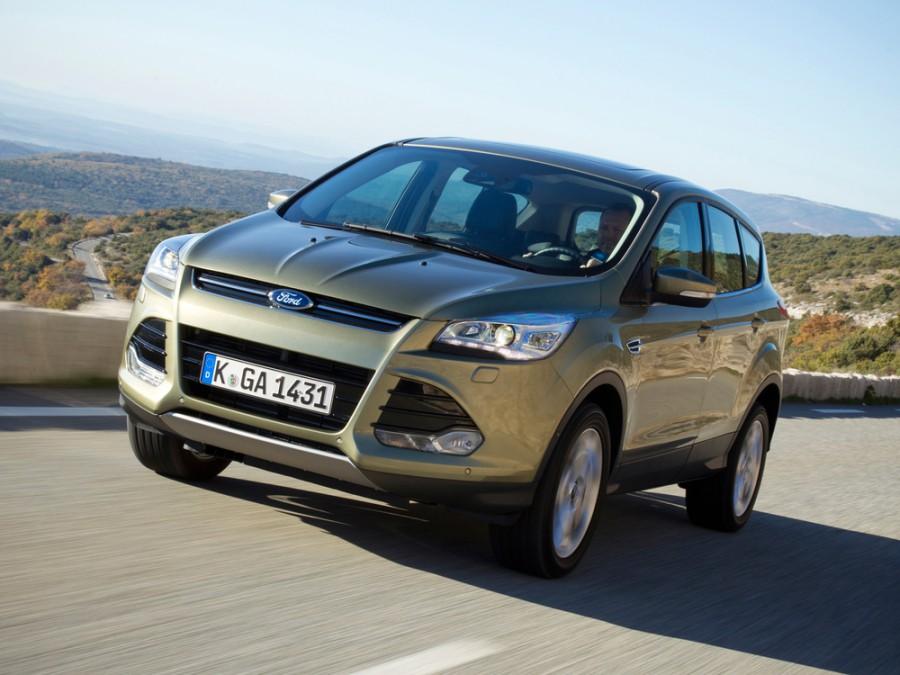 Ford Kuga кроссовер, 2013–2016, 2 поколение - отзывы, фото и характеристики на Car.ru