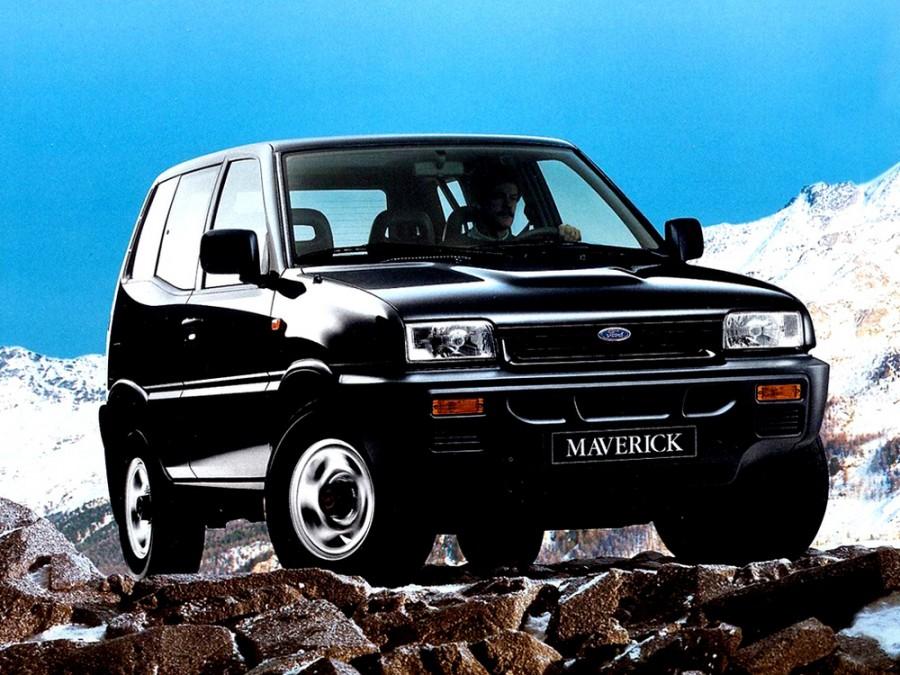 Ford Maverick внедорожник 3-дв., 1993–1996, 1 поколение - отзывы, фото и характеристики на Car.ru