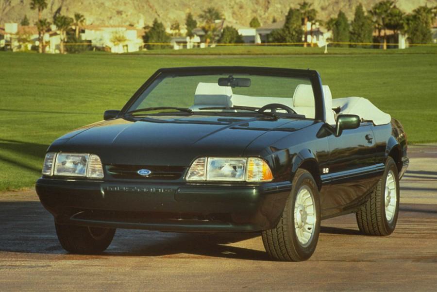 Ford Mustang кабриолет, 1978–1993, 3 поколение - отзывы, фото и характеристики на Car.ru