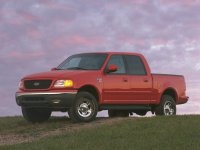 Ford F-Series, 10 поколение, F-150 supercrew пикап 4-дв., 1996–2003