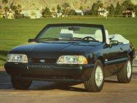 Ford Mustang, 3 поколение, Кабриолет, 1978–1993