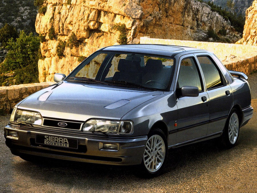 Ford Sierra седан, 1987–1993, 1 поколение [рестайлинг] - отзывы, фото и характеристики на Car.ru
