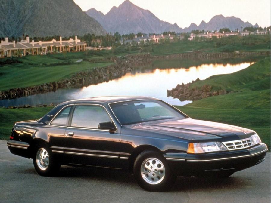 Ford Thunderbird купе, 1987–1988, 9 поколение [рестайлинг] - отзывы, фото и характеристики на Car.ru