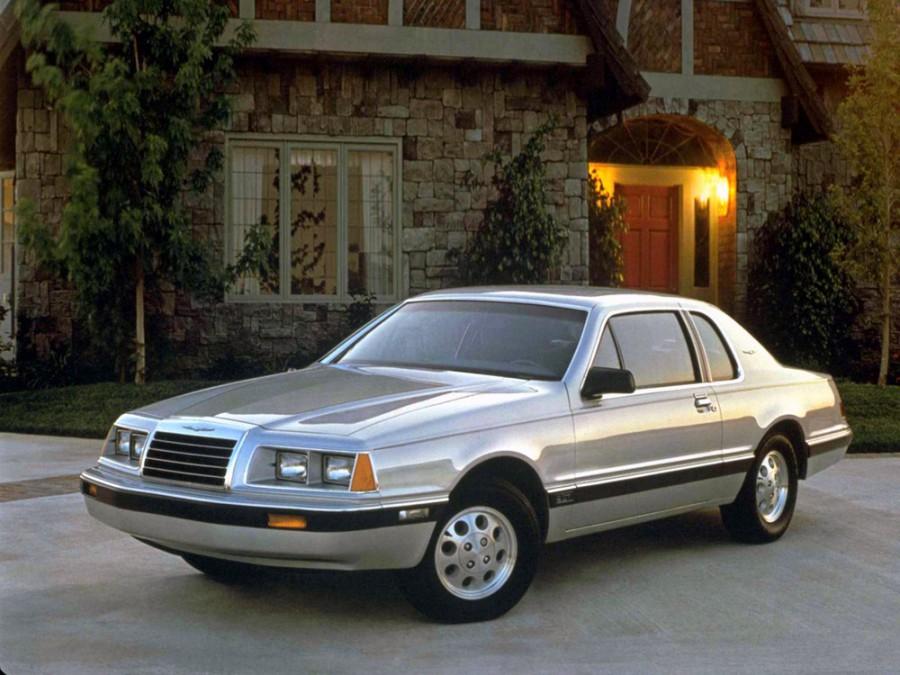 Ford Thunderbird купе, 1983–1988, 9 поколение - отзывы, фото и характеристики на Car.ru