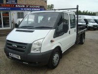 Ford Transit, 6 поколение, Chassis double cab шасси 4-дв., 2006–2015