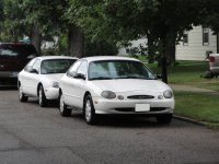Ford Taurus, 3 поколение, Седан, 1996–1999