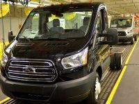 Ford Transit, 7 поколение, Chassis cab шасси, 2014–2016