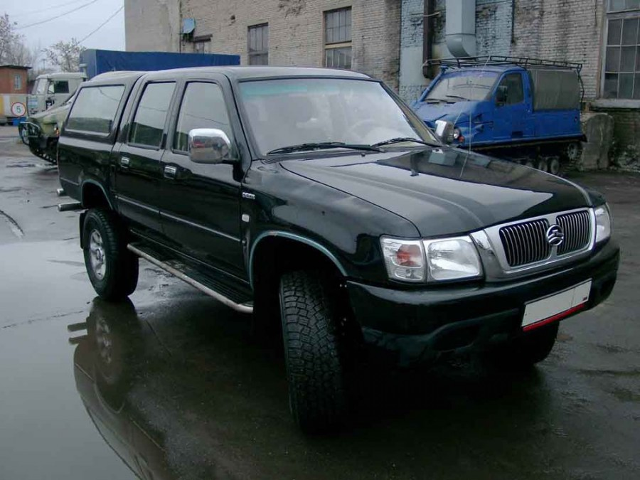 GreatWall Deer G3 пикап 4-дв., 2005–2014, 1 поколение - отзывы, фото и характеристики на Car.ru