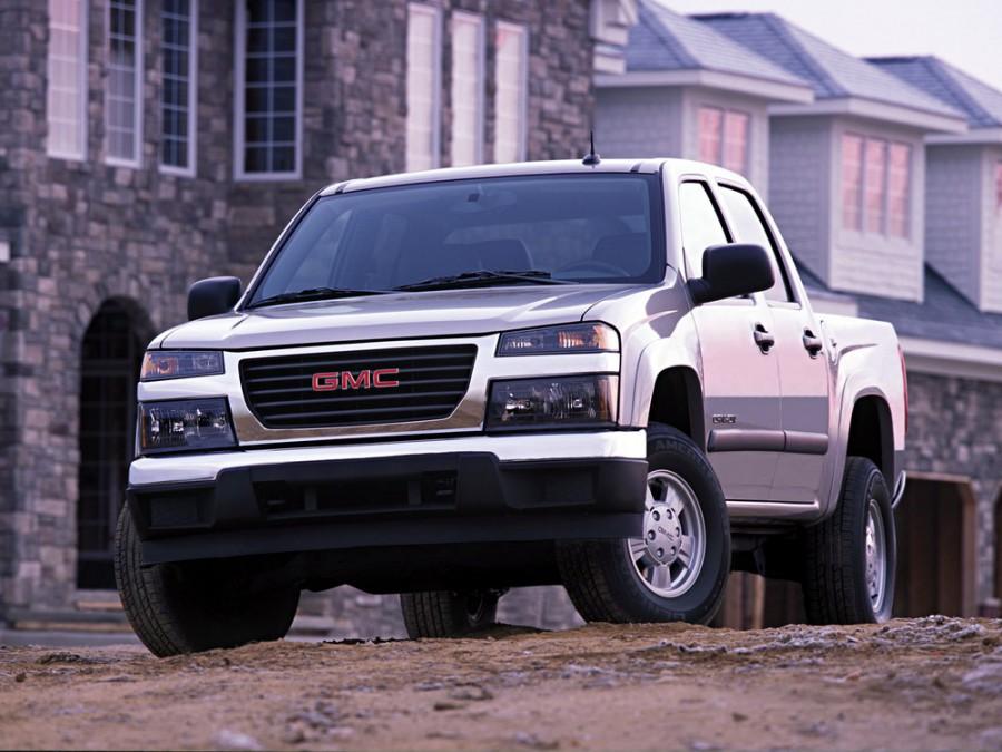 Gmc Canyon Crew Cab пикап 4-дв., 2003–2014, 1 поколение, 3.5 AT 4WD (220 л.с.), характеристики