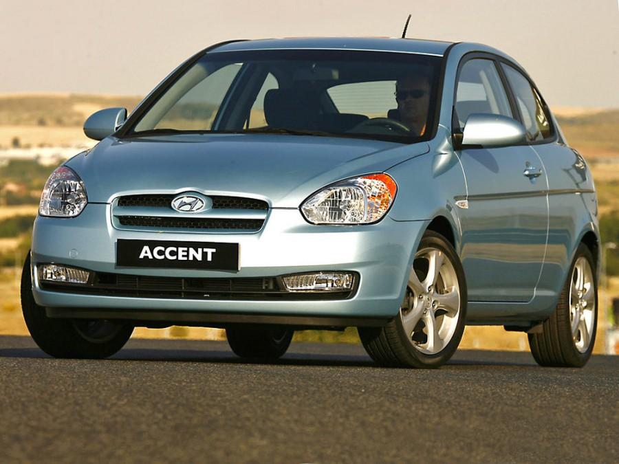 Hyundai Accent хетчбэк, 2006–2010, MC - отзывы, фото и характеристики на Car.ru