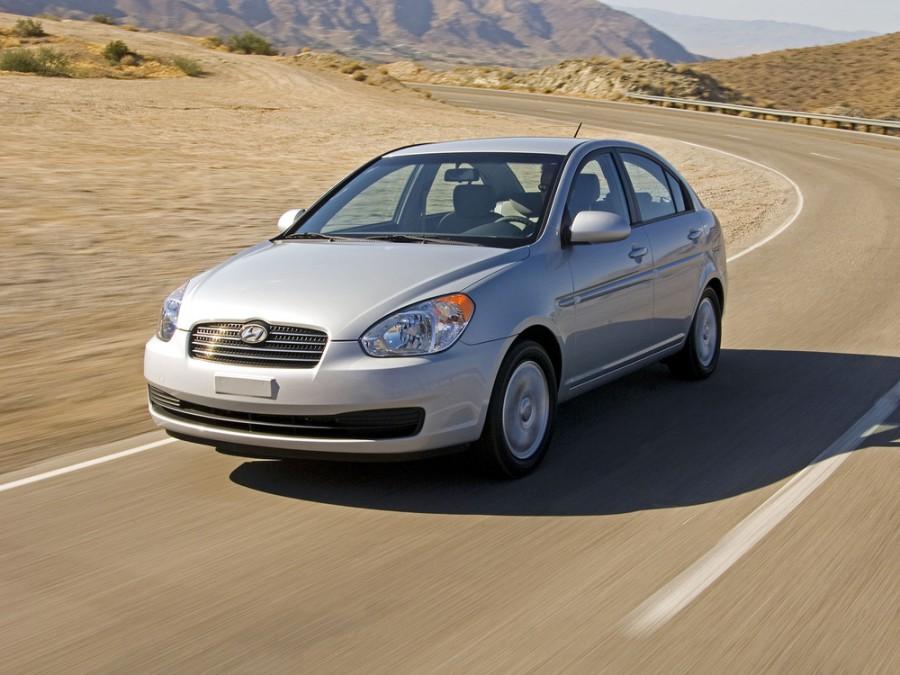 Hyundai Accent седан, 2006–2010, MC - отзывы, фото и характеристики на Car.ru